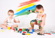 Boys Royalty Free Stock Photography