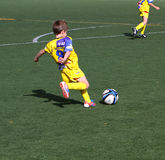 Boys on the Alicante City Youth Soccer Cup. On December 1, 2012 in Alicante, Spain Royalty Free Stock Image