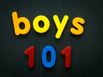 Boys 101 Royalty Free Stock Images