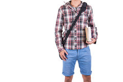 Boys backpack Royalty Free Stock Image