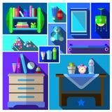 Boys bedroom Stock Photography