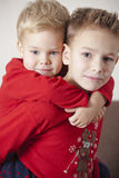 Boys Brothers Royalty Free Stock Image