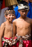 Boys from Central Java Royalty Free Stock Image