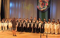 Boys choir Royalty Free Stock Images