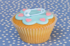 Boys Christening Cake Royalty Free Stock Images