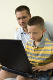 Boys and Electronics Stock Photography