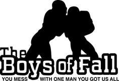 The Boys of fall Stock Photos
