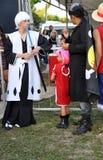 Boys Fantasy festival Animes Royalty Free Stock Photography