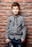 Boys fashion Royalty Free Stock Image
