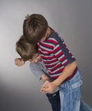 Boys fighting Stock Photos