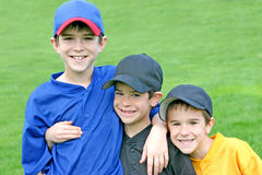 Boys On Game Day Stock Photo
