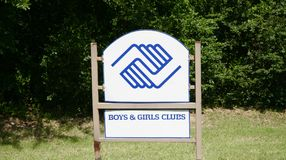 Boys and Girls Club. The Boys & Girls Clubs mission statement is to enable all young people, especially those who need us most, to reach their full potential as Royalty Free Stock Images