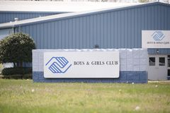 Boys and Girls Club Building. The Boys & Girls Clubs mission statement is to enable all young people, especially those who need us most, to reach their full Royalty Free Stock Photography