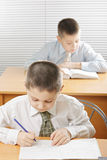 Boys having classes Royalty Free Stock Images