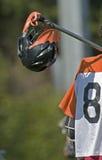 Boys lacrosse Helmet Stock Images