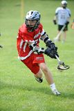 Boys Lacrosse Tournament. Game action of a boys Lacrosse game in a tournament in New Jersey Stock Images