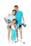 Boys and little girl Royalty Free Stock Image