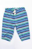 Boys little striped shorts. royalty free stock images