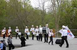 Boys Orchestra. At the celebration of Lag BaOmer in May 18, 2014 in Toronto, Canada Stock Photography