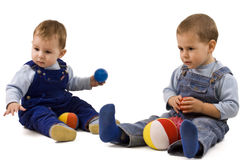 Boys playing Stock Image