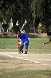 Boys Playing Cricket in Pakistan! Royalty Free Stock Photo