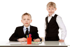Boys school Stock Photography