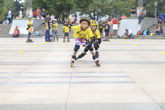 Boys skating Royalty Free Stock Image