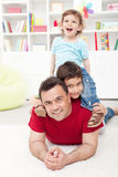 Boys time together Stock Photos