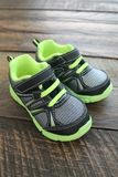 Boys and Toddlers Athletic Tennis Shoes  Stock Photography