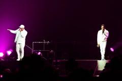 Boyz ΙΙ συναυλία ατόμων στο Μόντρεαλ Στοκ φωτογραφία με δικαίωμα ελεύθερης χρήσης