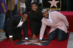 Boyz II Men, Nathan Morris, Shawn Stockman, Wanya Morris Stock Photos