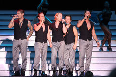 Boyzone bei Broadlands Juli 2008 Stockfotografie