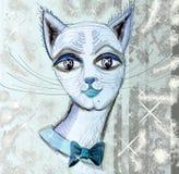 Bozal cat.5 stock de ilustración