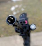 Muzzel del rifle fotografía de archivo