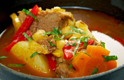 Bozbash -mutton soup Royalty Free Stock Photography