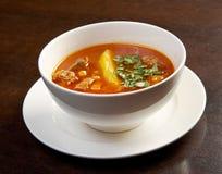 Bozbash  soup Stock Images