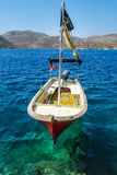 Bozburun Bay in Marmaris, Turkey Royalty Free Stock Images