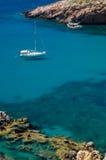 Bozcaada博兹贾岛在土耳其 免版税库存图片