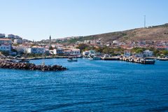 Bozcaada en Turquie Photo stock