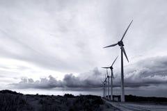 Bozcaada windmills Stock Images