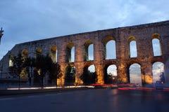 Bozdogan Aqueduct in Istanbul. Stock Image