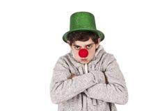 Boze Clown Stock Afbeelding