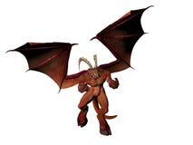 Boze Demon vector illustratie