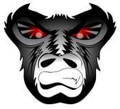 Boze gorilla vector illustratie