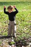 Boze jongen royalty-vrije stock afbeeldingen
