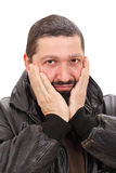 Boze mens Stock Foto