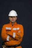 Boze mijnwerker stock afbeeldingen