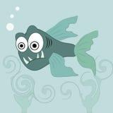 Boze vissen Vector Illustratie