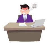Boze Werkgever Stock Afbeelding