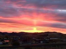 Bozeman sunrise Royalty Free Stock Image